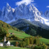 Italy Vally Wall Mural